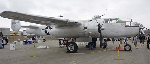 North American B-25J Mitchell N9856C Pacific Princess, May 14, 2011